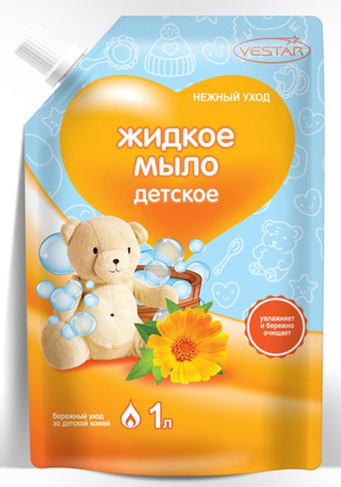 """Жидкое мыло Vestar """"Детское"""" , 1 л"""