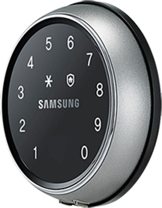 цена на Электронный дверной замок Samsung SHS-D607 XMK/EN