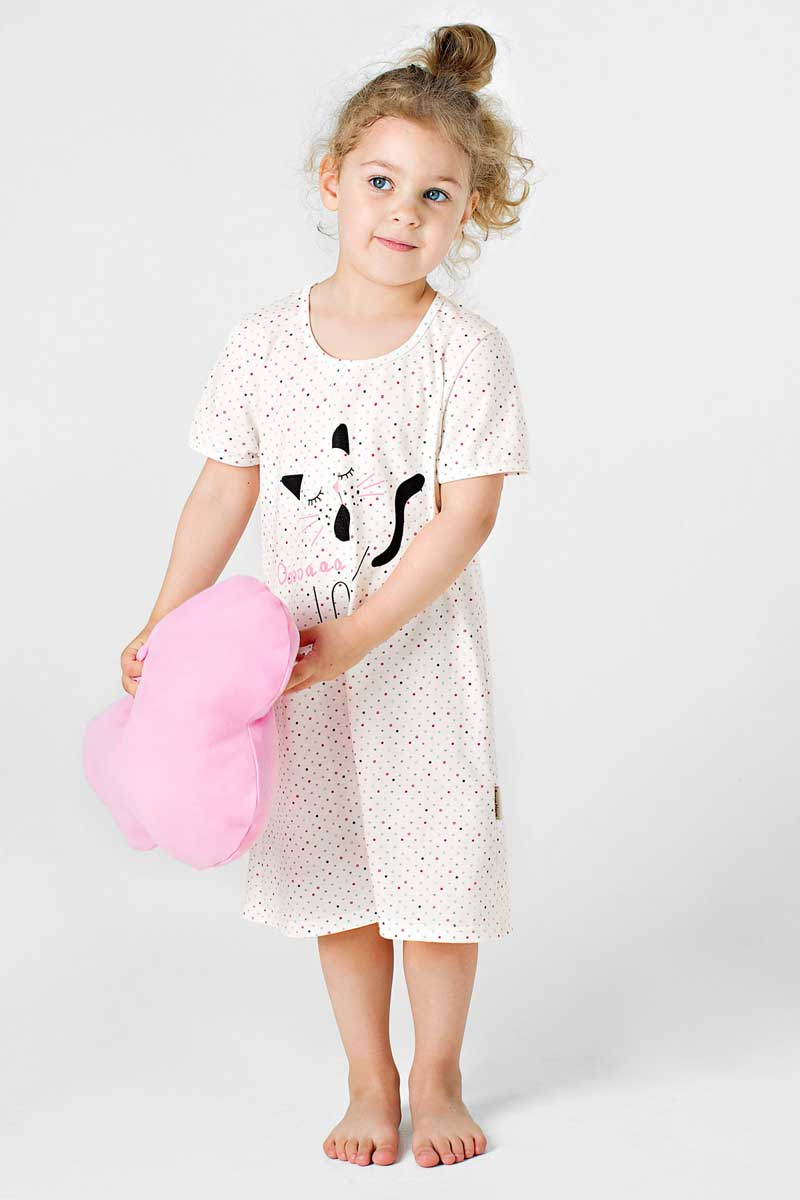 Ночная рубашка Bossa Nova ночная сорочка для девочки bossa nova цвет серый салатовый 391б 180 размер 122 128 7 8 лет