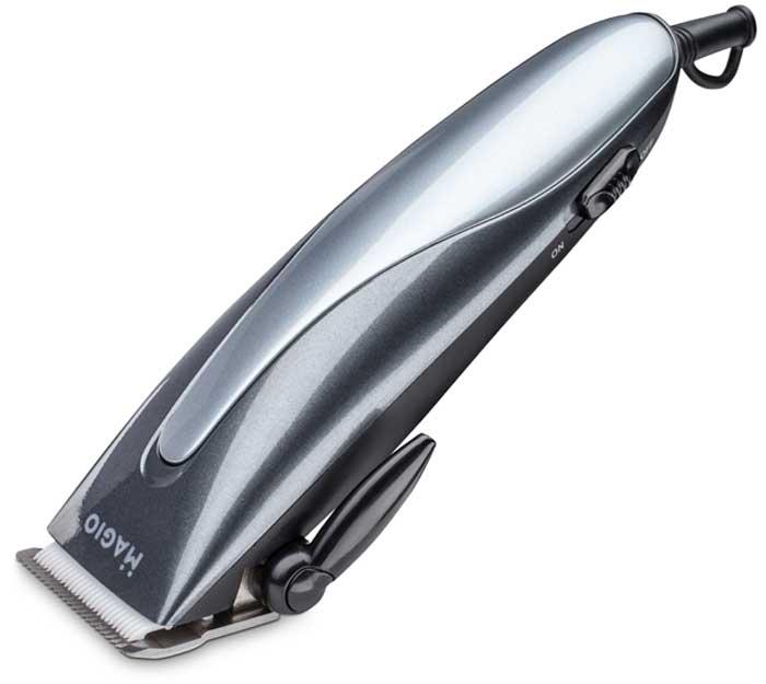 Машинка для стрижки волос Magio MG-583, цвет: серебристый