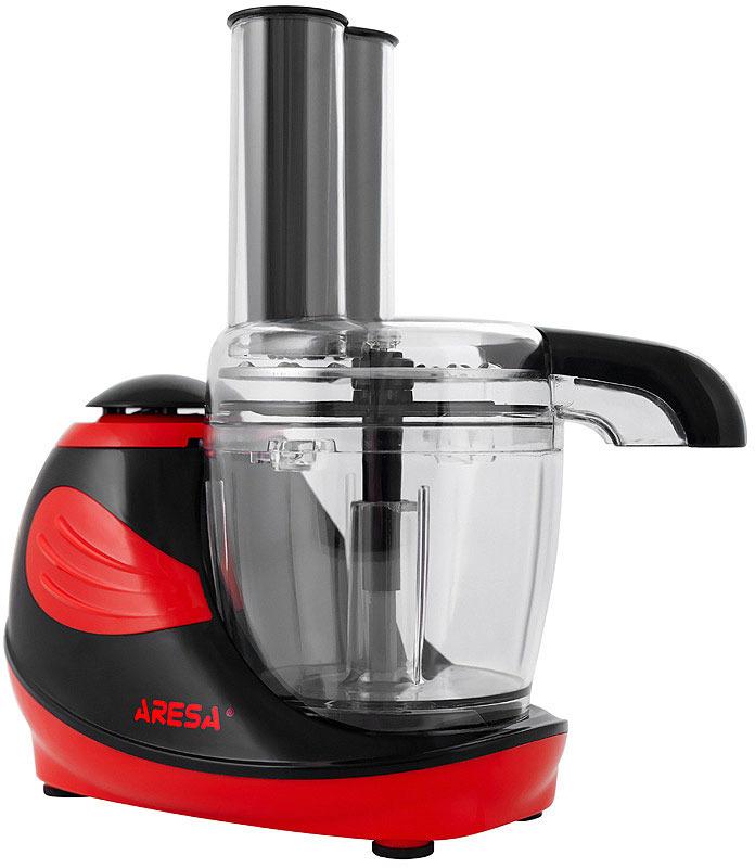 Кухонный комбайн Aresa, AR-1704, красный, черный