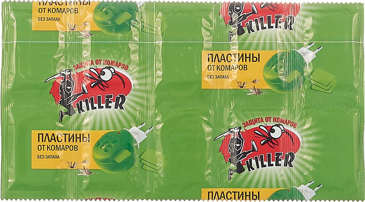 Пластины от комаров, 10 шт. ТДД34472