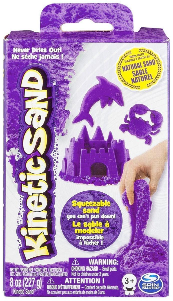 лучшая цена Песок для лепки Kinetic Sand, цвет: фиолетовый