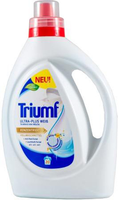 Эко-гель для стирки белого белья Triumf White, 1 л