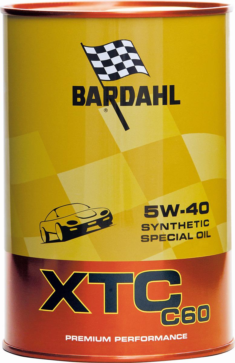 Моторное масло Bardahl 5W-40, 1 л 334040