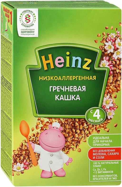 Heinz каша гречневая низкоаллергенная, с 4 месяцев, 200 г heinz каша гречневая с омегой 3 сашет с 4 месяцев 30 г
