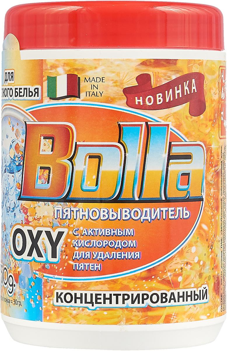 """Пятновыводитель Bolla """"Oxy"""", без хлора, для цветного белья, 750 г"""