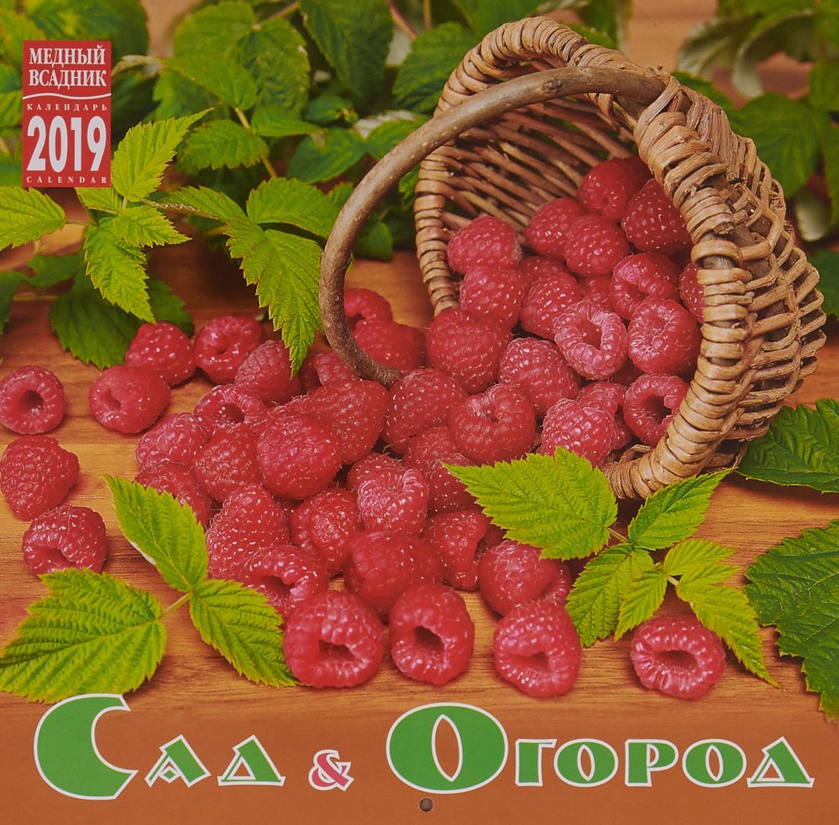 купить Календарь на скрепке на 2019 год. Сад и огород по цене 93 рублей
