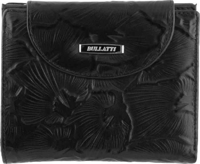 Кошелек женский Bullatti, цвет: черный. 2333FL-C82 кошелек женский bullatti цвет розовый 2536l f66