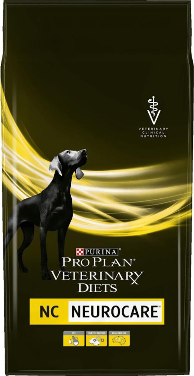 Корм сухой Pro Plan Veterinary diets NC для поддержания функции мозга у собак, 3 кг purina veterinary purina pro plan veterinary diets jm joint mobility для щенков взрослых и пожилых собак при заболеваниях суставов