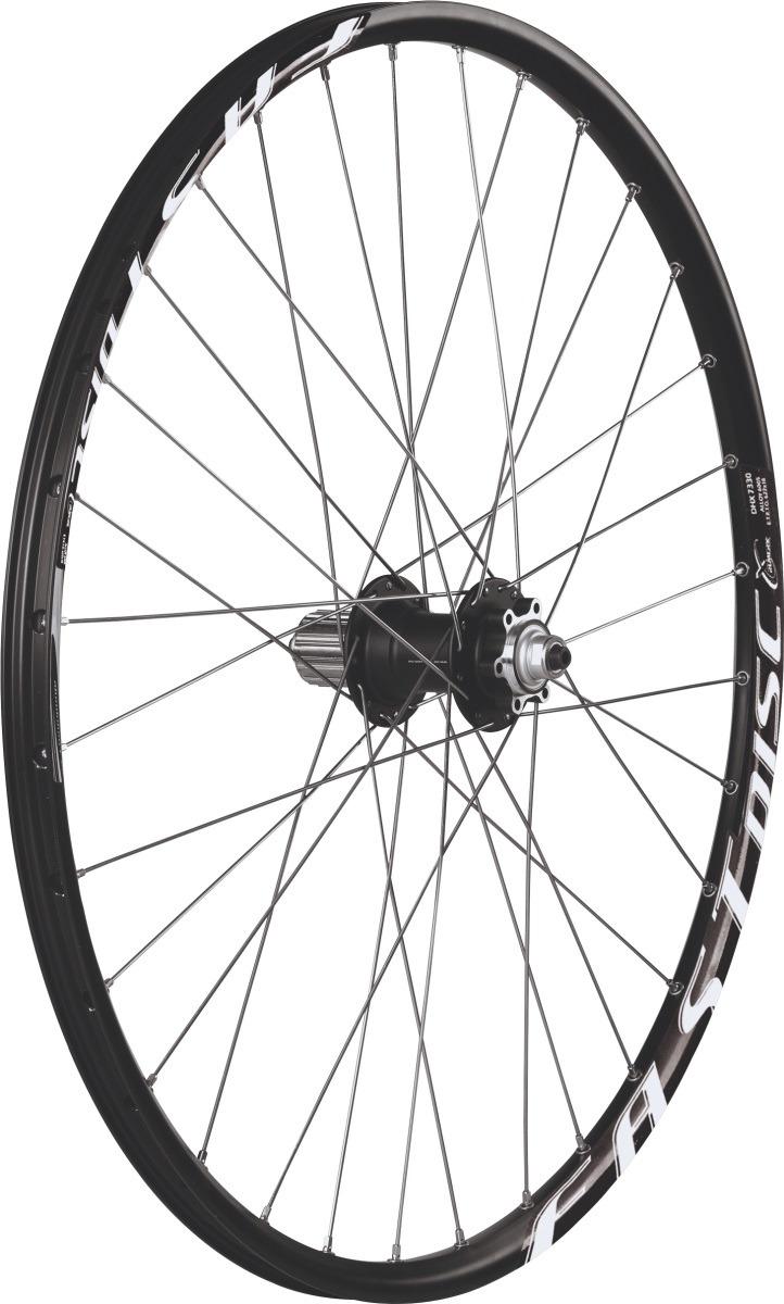 Комплект колес Remerx, 26, FAST DISC, 559x18, обод двойной, 32 спицы