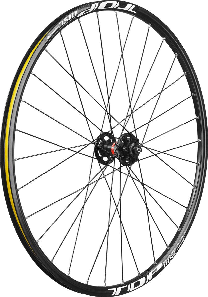 Комплект колес Remerx Top Disc 26 (559x19), обод двойной, 32 спицы, под эксцентрик, под дисковый тормоз