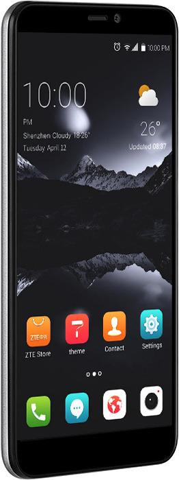 Смартфон ZTE Blade А530 2/16GB, серый zte blade а530 серый