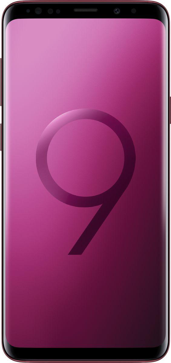 Смартфон Samsung Galaxy S9+ 64 GB, бургунди