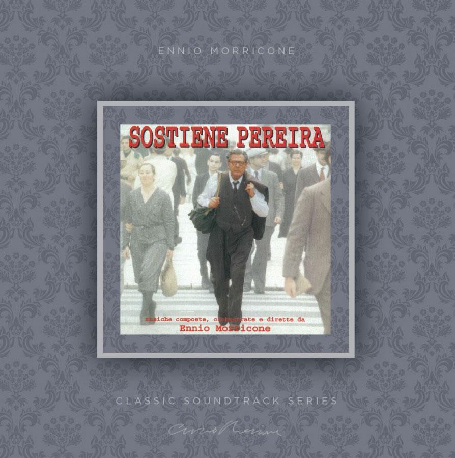 Эннио Морриконе Ennio Morricone. Sostiene Pereira Original Soundtrack (LP) sostiene pereira
