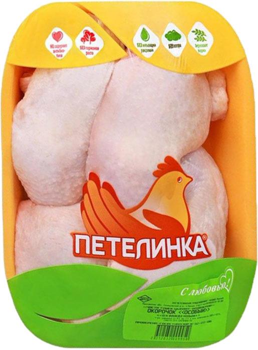 Окорочок куриный особый Петелинка, охлажденный, 0,8 кг Петелинка
