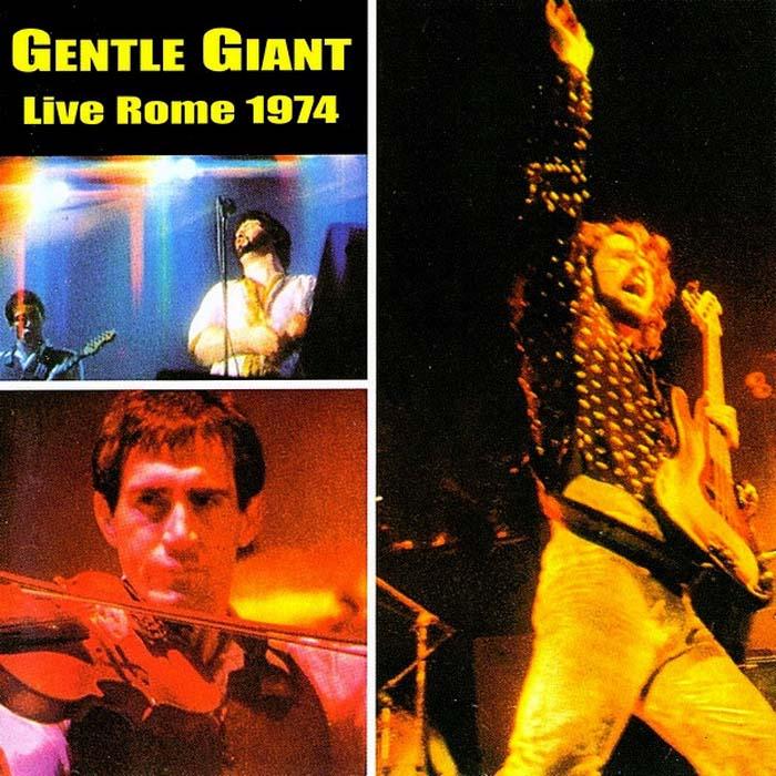 Gentle Giant. Live In Rome 1974 зарядное для аккумуляторов gp batteries 2 ааа 650 mah