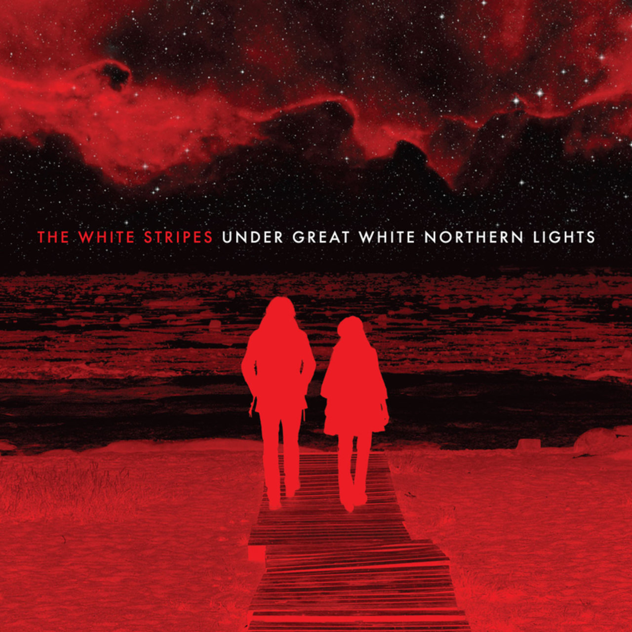The White Stripes The White Stripes. Under Great White Northern Lights (2 LP) the white stag