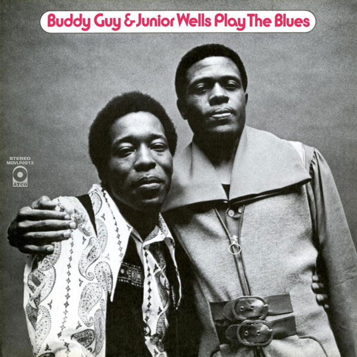 Бадди Уэллс,Juniior Guy Buddy Wells & Junior Guy. Play The Blues (LP)