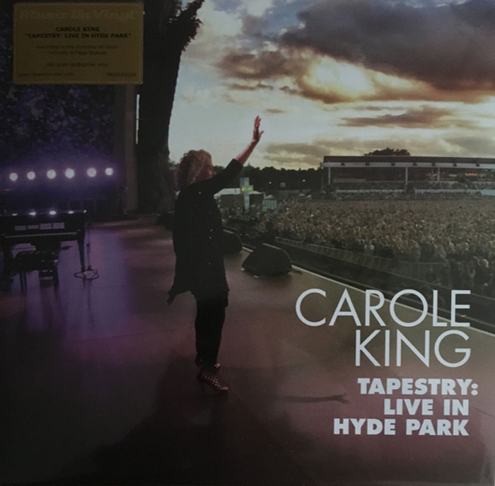 цены Кэрол Кинг Carole King. Tapestry. Live In Hyde Park (2 LP)