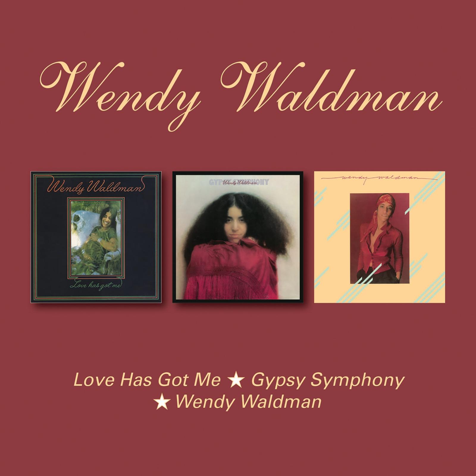 Венди Волдмен Wendy Waldman. Love Has Got Me. Gypsy Symphony/Wendy (2 CD)