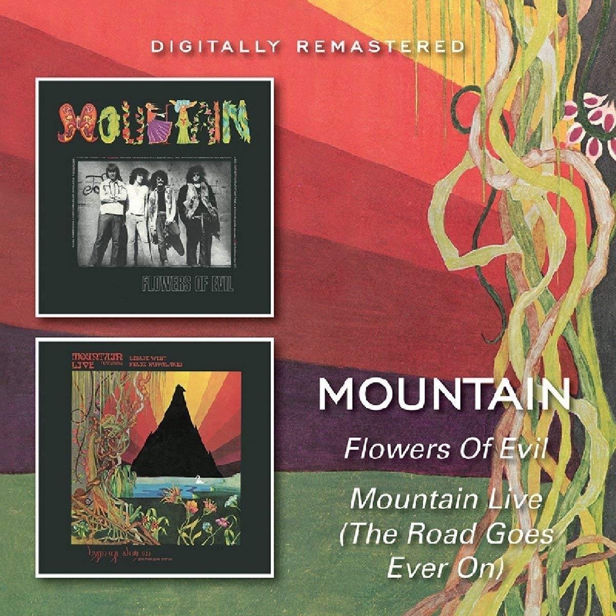 Mountain. Flowers Of Evil. Mountain Live (The Road Goes Ever On) charles baudelaire the flowers of evil