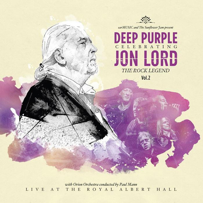 Jon Lord, Deep Purple & Friends. Celebrating Lord: The Rock Legend, Vol.2 (2LP+BLU-RAY)