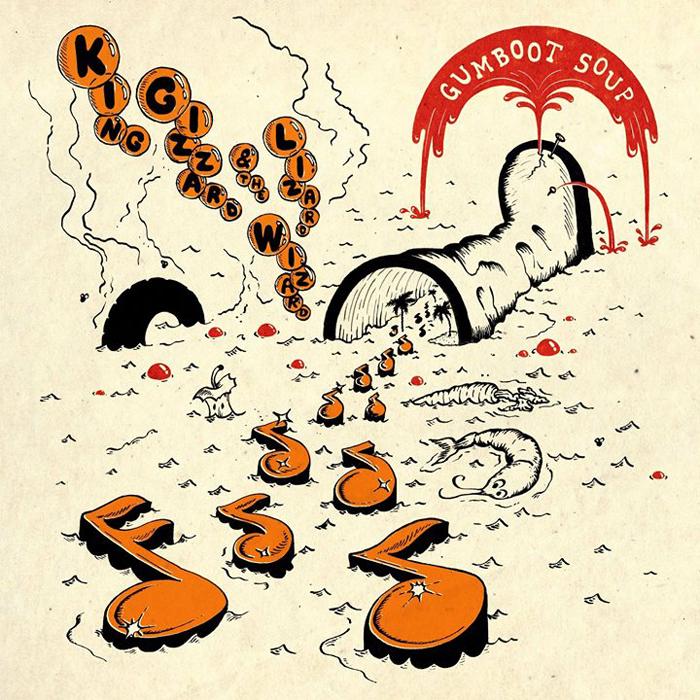 King Gizzard & The Lizard Wizard King Gizzard & The Lizard Wizard. Gumboot Soup автокресло gb idan lizard khaki