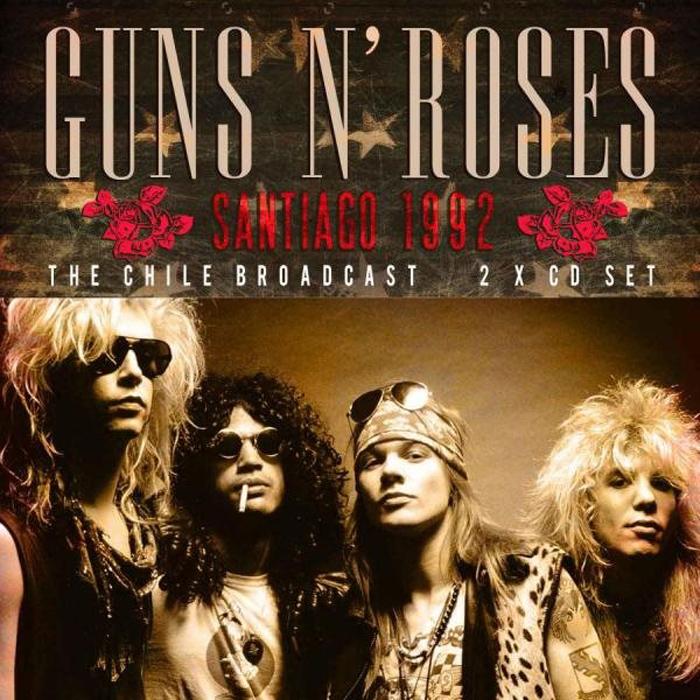 Guns N Roses Roses. Santiago 1992 (2CD)