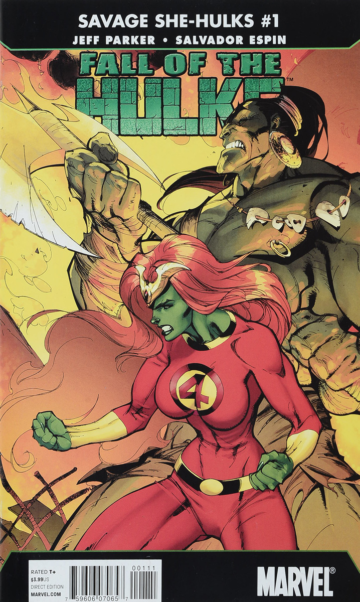 Jeff Parker, Salva Espin Fall of the Hulks: The Savage She-Hulks #1