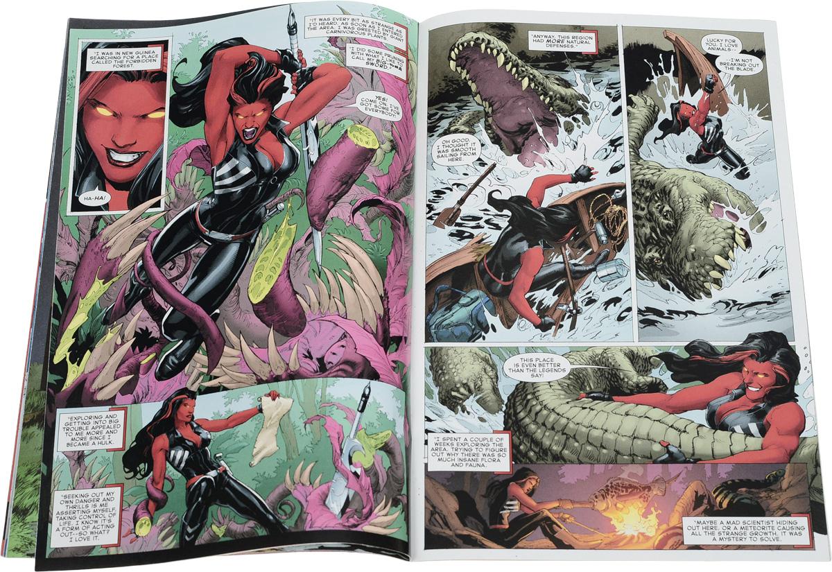Red She-Hulk #61 Regular Jana Schirmer Cover. ...