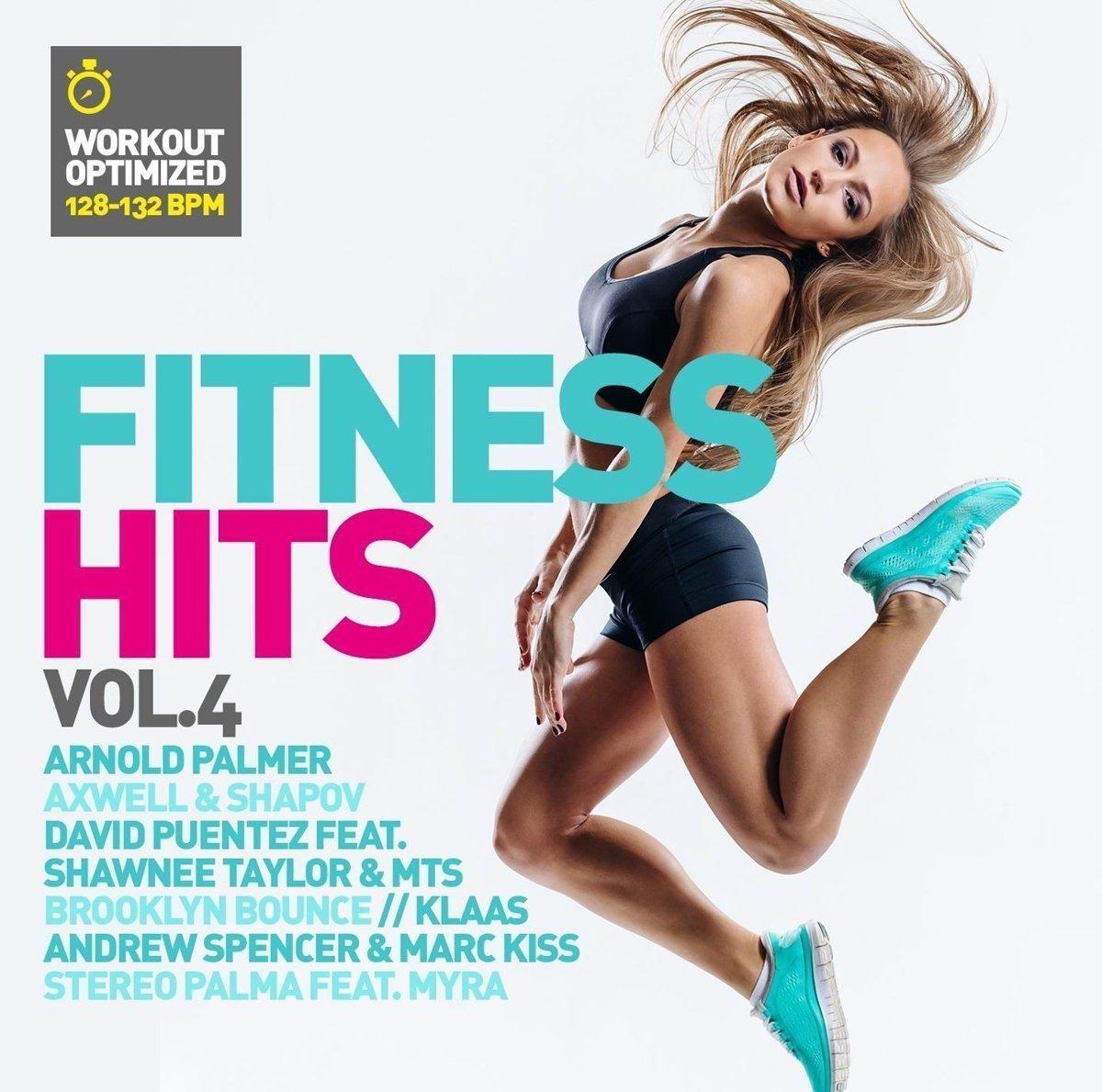 Various Artists. Fitness Hits Vol. 4 (2 CD) dance top hits 6 4 cd