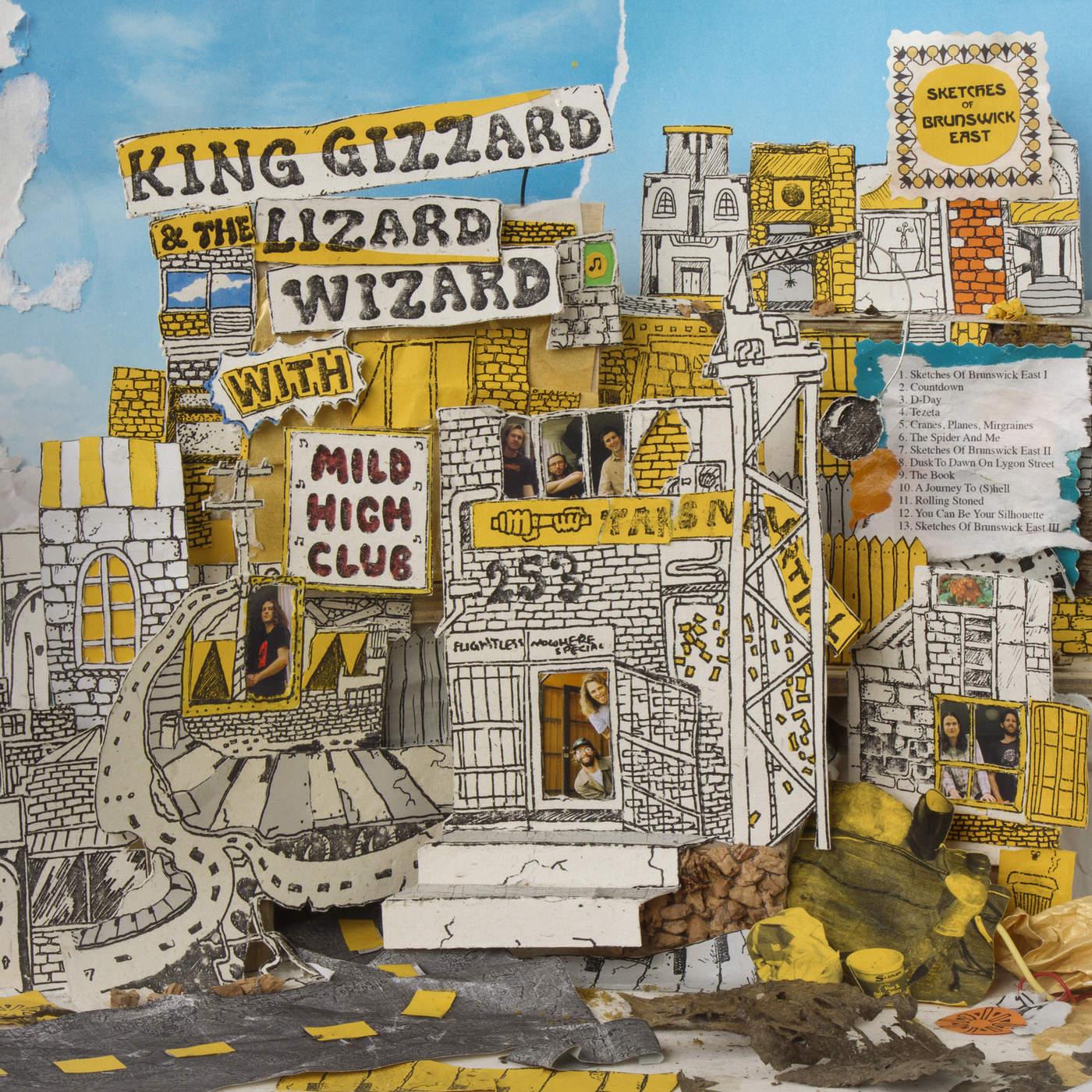 King Gizzard & The Lizard Wizard King Gizzard & The Lizard Wizard. Sketches Of Brunswick East автокресло gb idan lizard khaki
