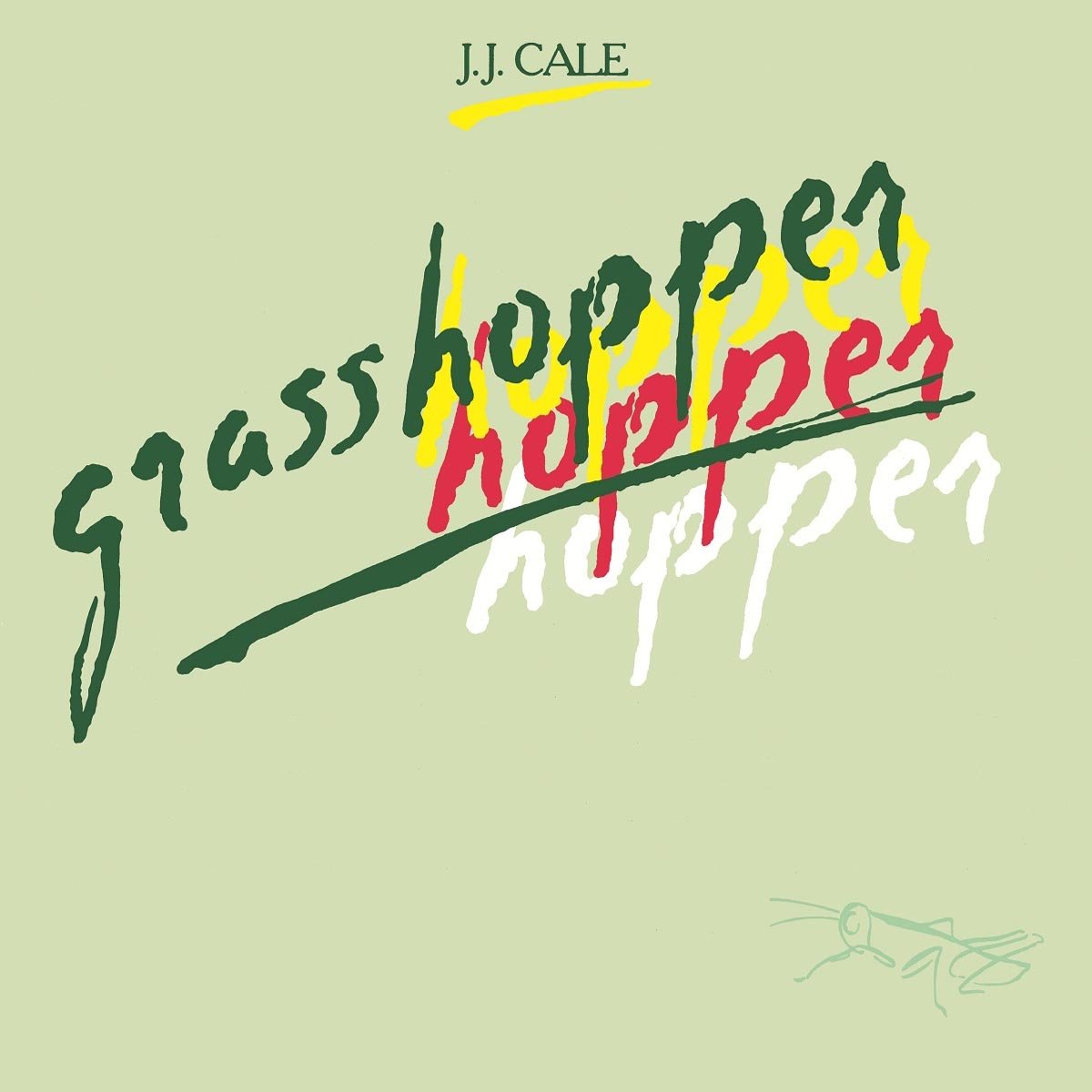 Дж.Дж. Кейл J.J. Cale. Grasshopper (LP) джон кейл john cale conflict