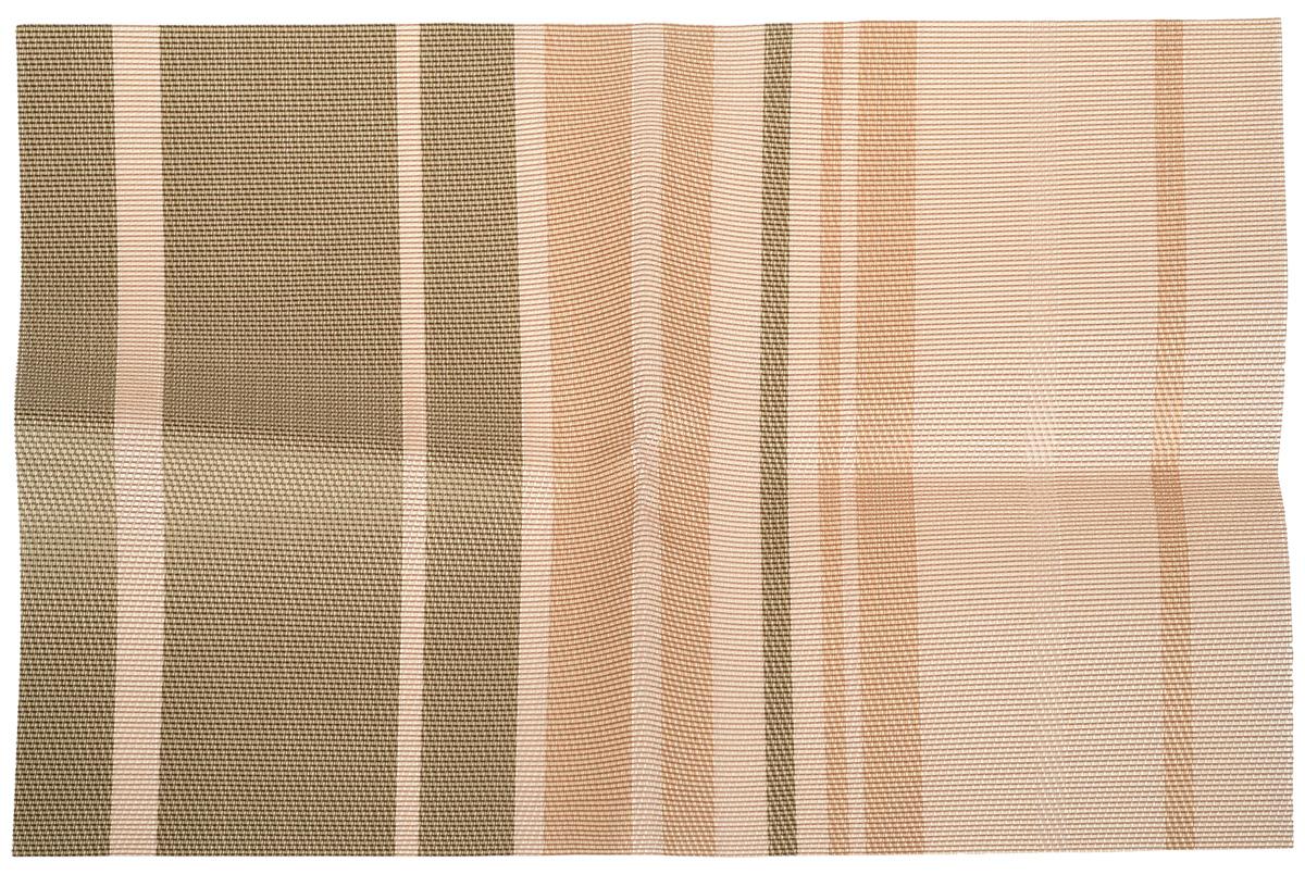 Салфетка сервировочная Marmiton Геометрия. Полоска, цвет: в ассортименте, 30 х 45 см нож для картофеля marmiton цвет белый 8 х 10 х 14 см
