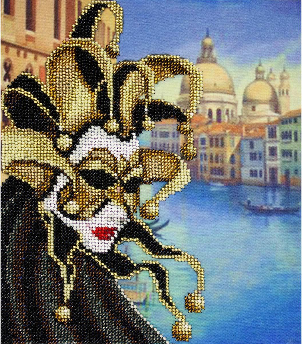 Набор для вышивания бисером Созвездие Италия, 20 х 24 см цена