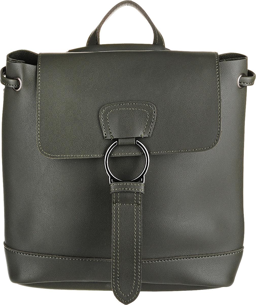 Рюкзак женский OrsOro, цвет: оливковый. DW-829/2 рюкзак женский orsoro цвет оливковый dw 830 2