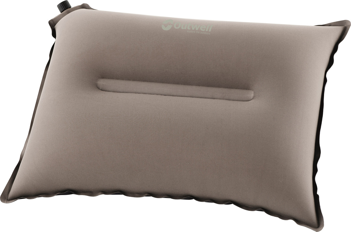 Подушка надувная Outwell Nirvana Pillow, цвет: светло-коричневый надувная кровать outwell flock excellent king 205х155х30см 360462