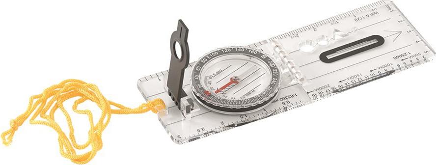 Компас Easy Camp Venture Map Compass, планшетный, жидкостный, складной, 5,7 х 16 см компас geonaute планшетный компас для спортивного ориентирования или походов explorer 500