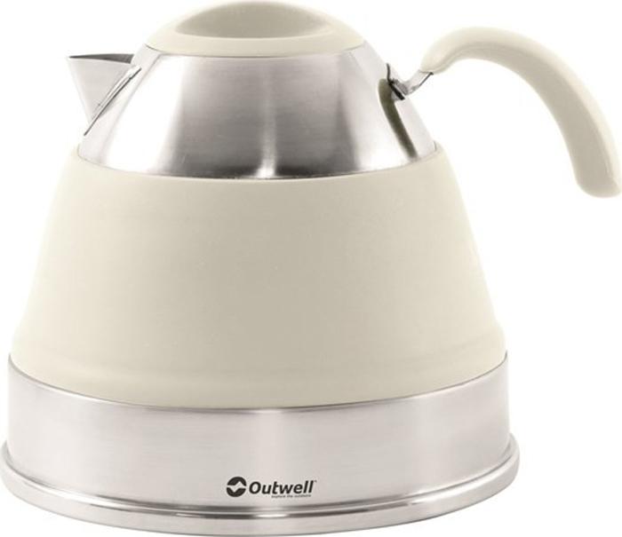 Чайник походный Outwell Collaps Kettle, цвет: бежевый, 2,5 л. 650626 цена
