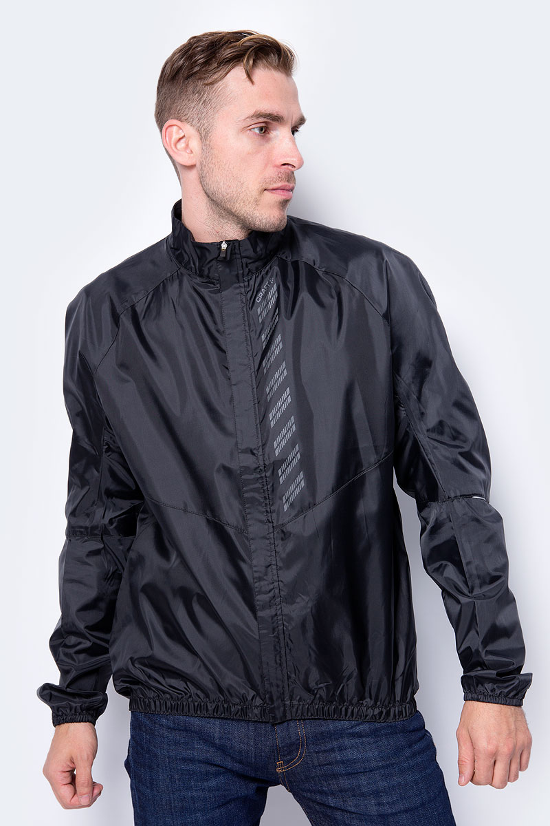 Фото - Куртка мужская для велоспорта Craft Mist Wind, цвет: черный. 1906093/999000. Размер S (46) куртка ветровка мужская сплав mantis цвет оливковый 1308096 размер 48 50 158 164