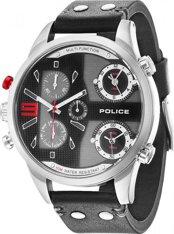 Наручные часы мужские Police, цвет: черный. PL.14374JS/02 все цены