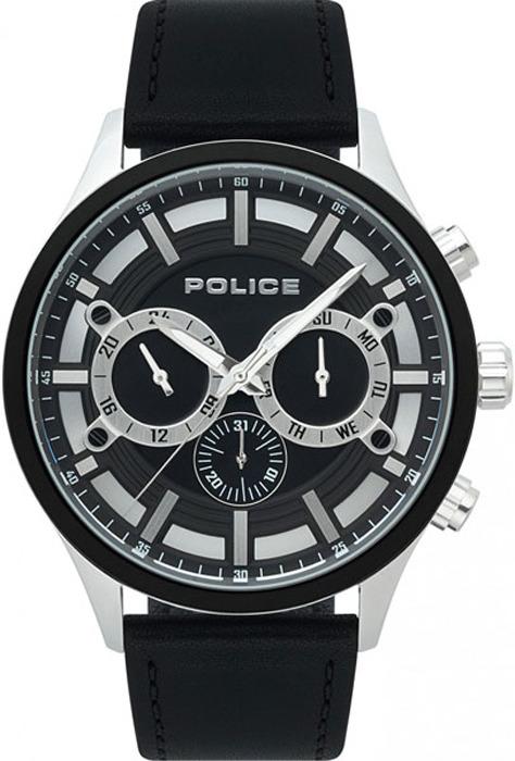 Наручные часы мужские Police, цвет: черный. PL.15412JSTB/02 все цены