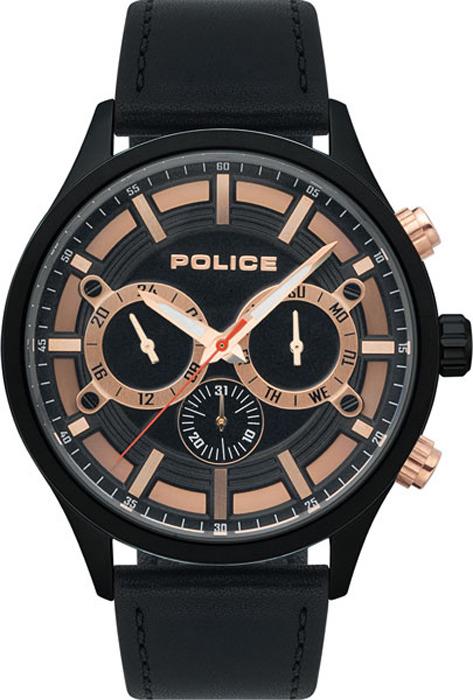 Наручные часы мужские Police, цвет: черный. PL.15412JSB/02 все цены