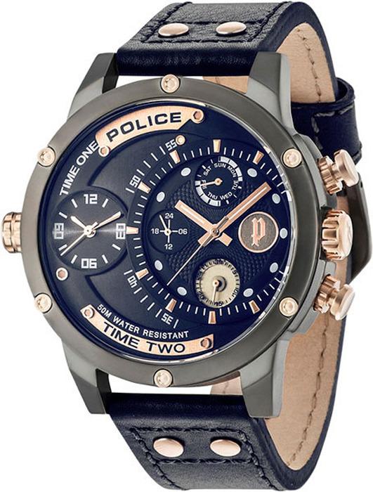 Наручные часы мужские Police, цвет: темно-синий. PL.14536JSU/03 все цены