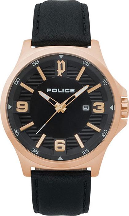 Наручные часы мужские Police, цвет: черный. PL.15384JSR/02 все цены
