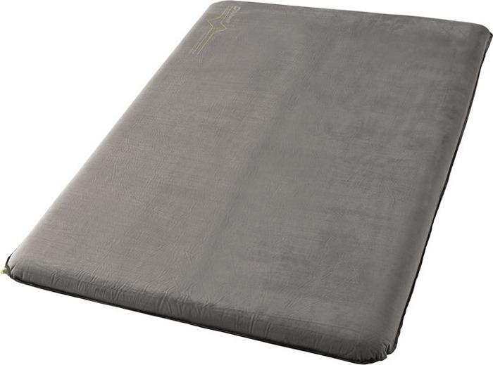 Коврик самонадувающийся Outwell Deepsleep Single, цвет: серый, 195 х 130 х 7,5 см коврик самонадувающийся outwell dreamcatcher single 195 х 63 х 5 см