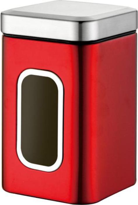 Контейнер для сыпучих продуктов Winner, цвет: красный, 2,35 л