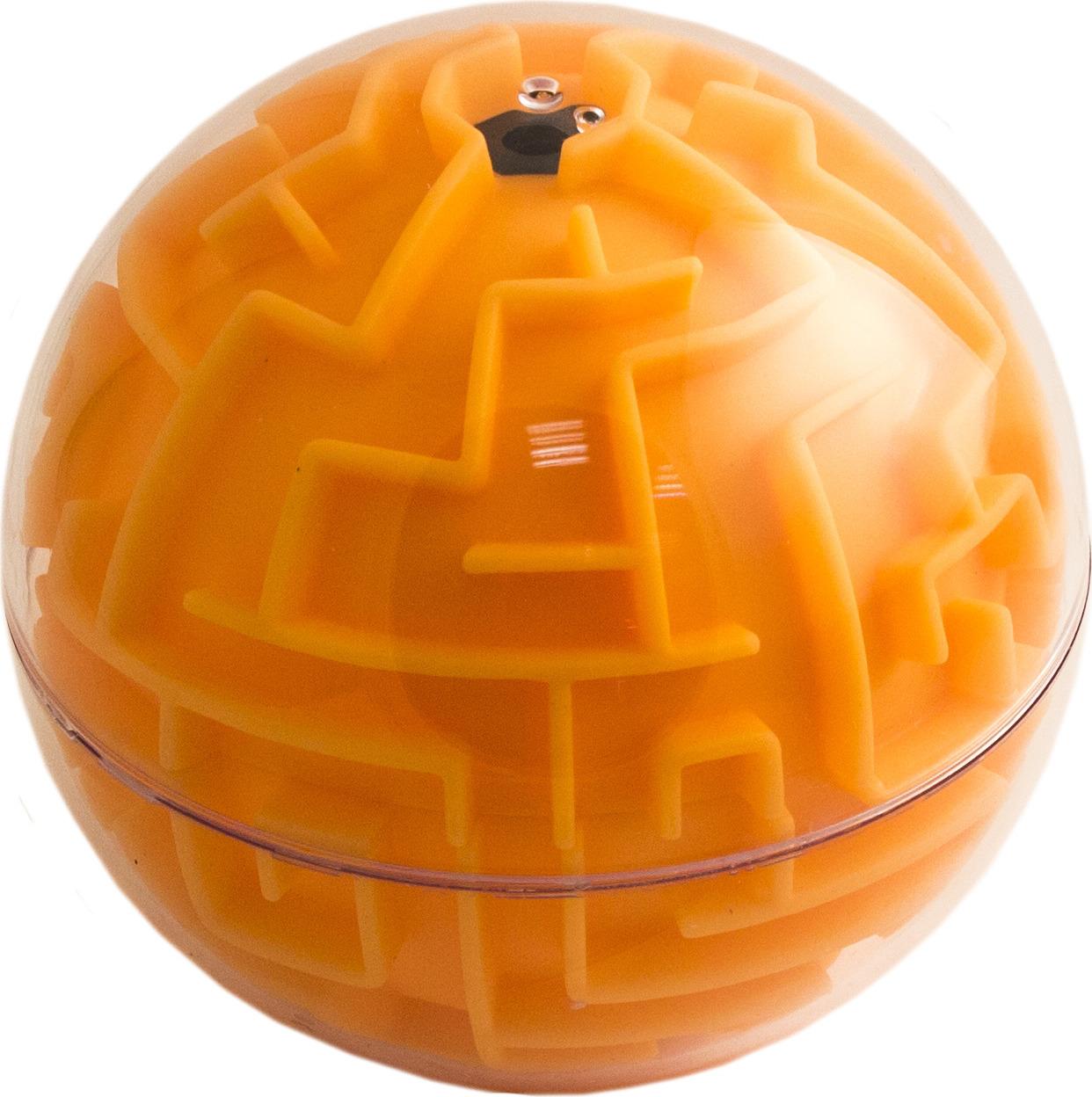 Фото - Головоломка-лабиринт Эврика Сфера, цвет: оранжевый светильник для чтения книг эврика цвет оранжевый