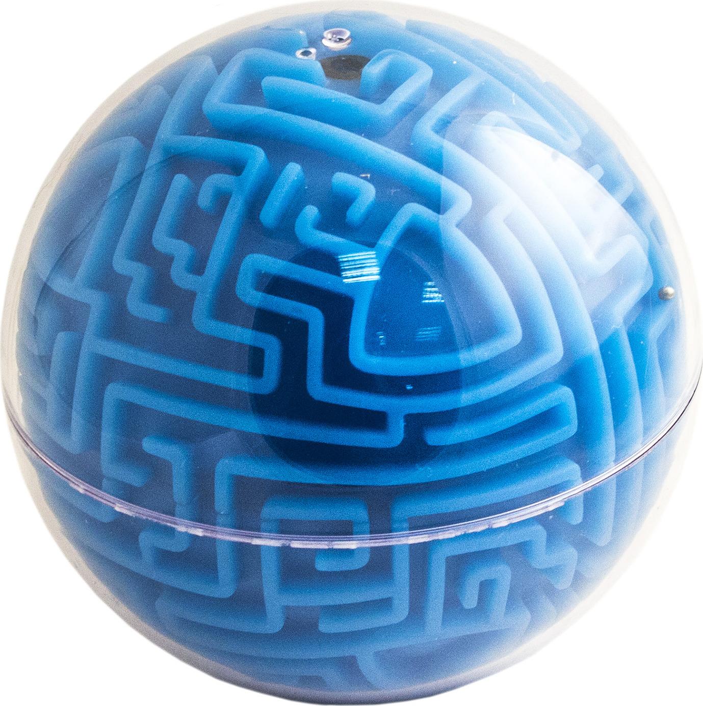 Головоломка-лабиринт Эврика Сфера, цвет: синий головоломка эврика лабиринт сфера red 98723